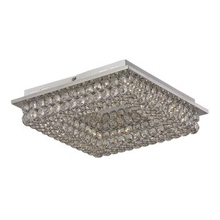 House of Hampton Apollo 4-Light Flush Mount
