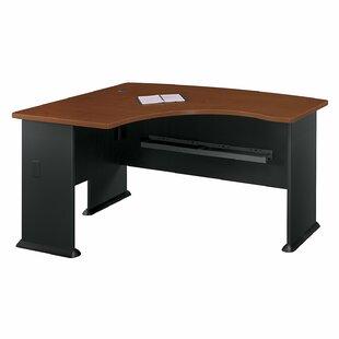 Comparison Series A Left Bow Desk ByBush Business Furniture
