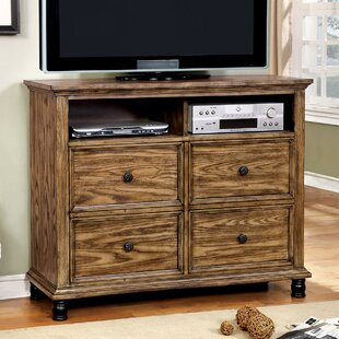 Mcville 4 Drawer Media Chest by A&J Homes Studio