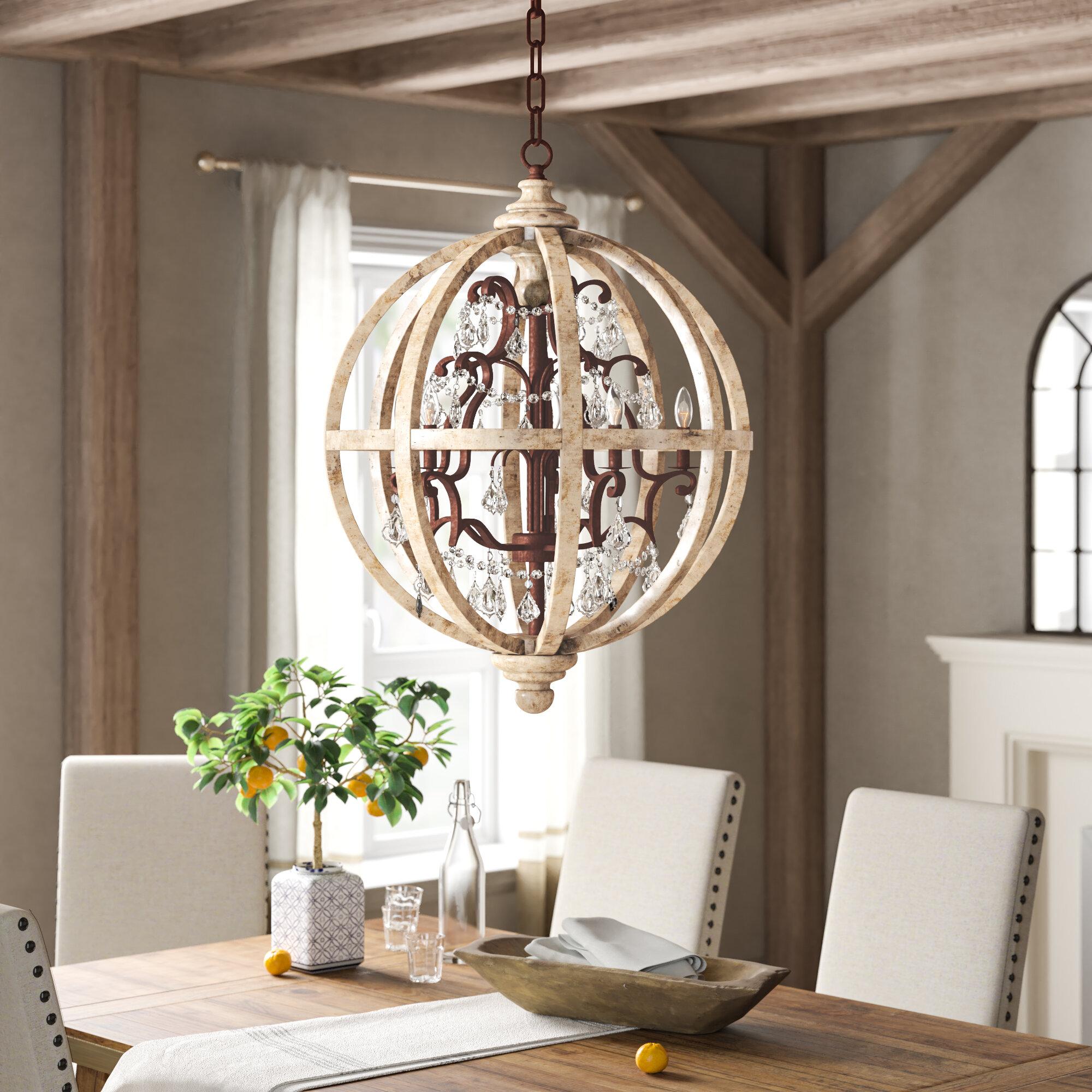 Weymouth 5 Light Globe Chandelier