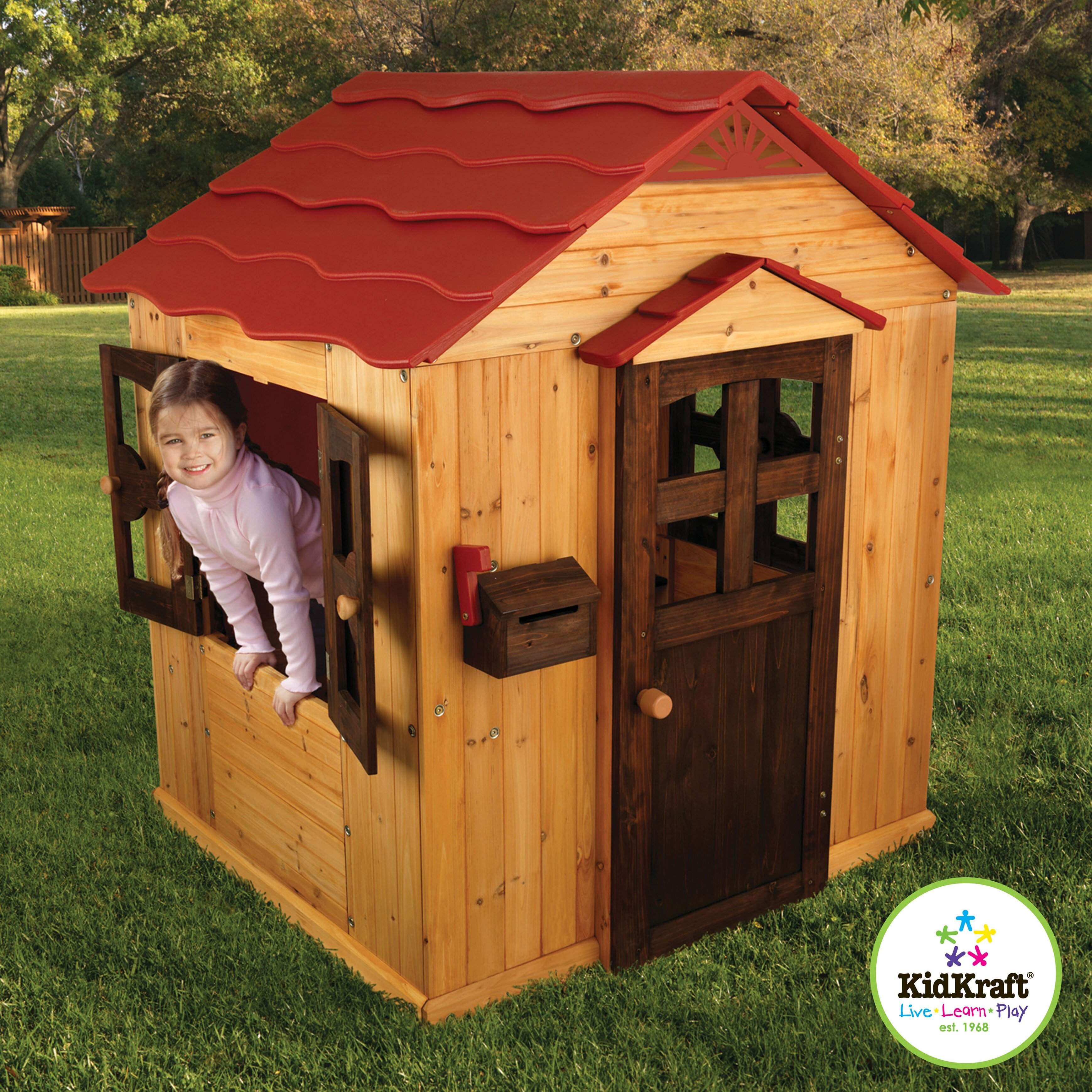 +65 Big Backyard Bayberry Ready-to-assemble Wooden ...