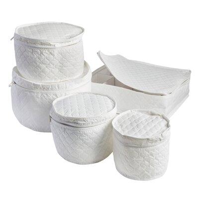 5 Piece Dinnerware Storage Set by Honey Can Do