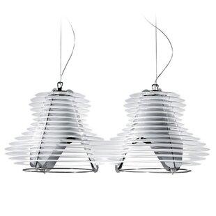 ZANEEN design Faretto 2-Light Kitchen Island Pendant