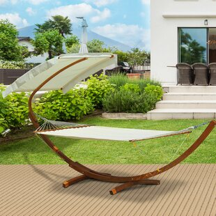 Derek Double Hammock with Stand