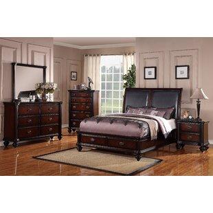 Farrer Upholstered Storage Sleigh Bed