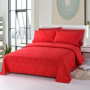 Ruben Comfortable Solid Color Rayon Sheet Set
