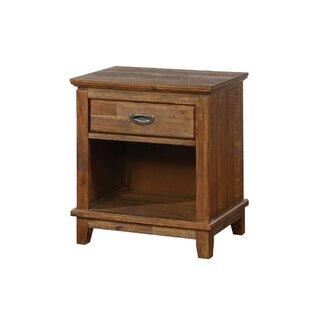 Millwood Pines Alexus 1 Drawer Nightstand