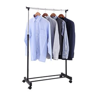 Comparison 34 W Berke Deluxe Space Saver Clothes Rack By Rebrilliant