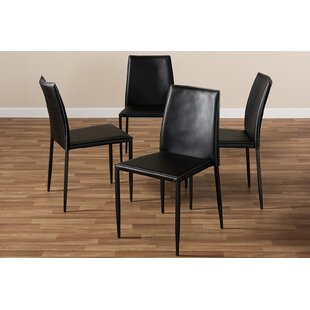 Senecal Upholstered Dining Chair (Set of 4) Ivy Bronx