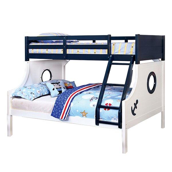 Harriet Bee Kalama Twin Over Full Bunk Bed Reviews Wayfair