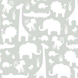 It S A Jungle In Here 5 5m L X 52cm W Wallpaper Roll