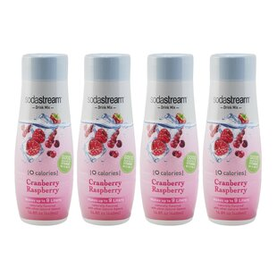 Cranberry Raspberry Zero Calorie Sparkling Drink Mix (Set of 4)