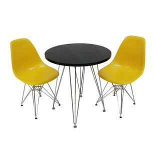 Confer 3 Piece Dining Set