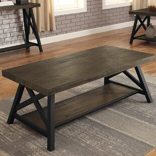 Lianna X-Shape Support Coffee Table