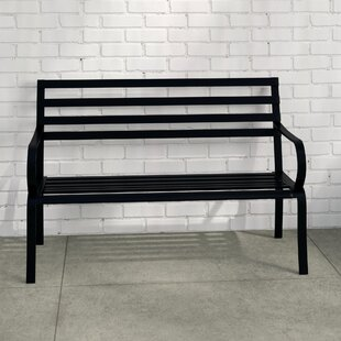 Shaunda Steel Bench By Sol 72 Outdoor
