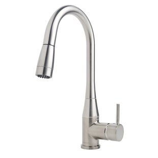 Symmons Sereno Pull Down Single Handle Kitchen Faucet