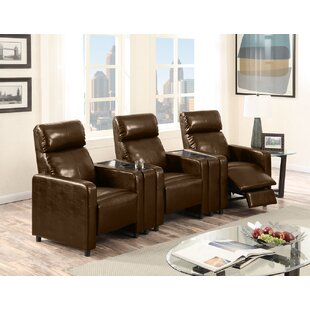 Ketter Push Back 3-Piece Home Theater Sofa by Latitude Run