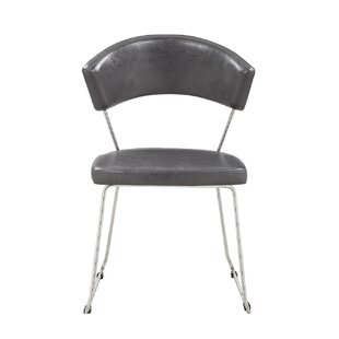 Weddle Upholstered Dining Chair (Set of 4) Orren Ellis