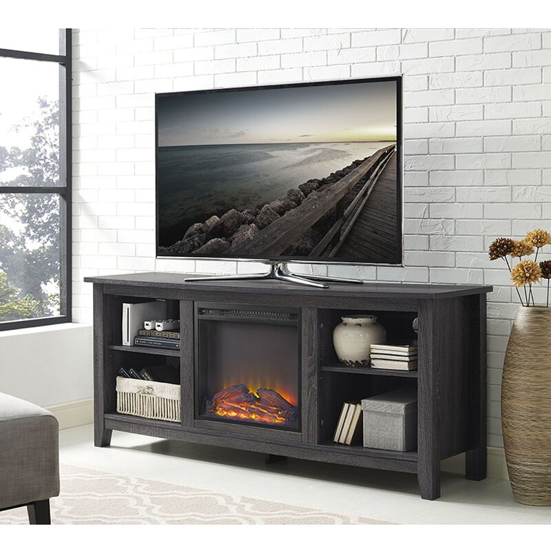 accessories products windsor cabinet espresso mantel consoles console media corner ca fireplace tv package with oak electric efca