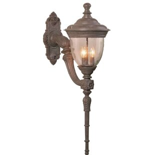 Alcott Hill Phillipstown 3-Light Outdoor Sconce