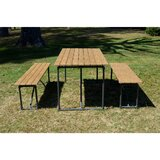 Oakdene Outdoor 3 Piece Picnic Dining Set