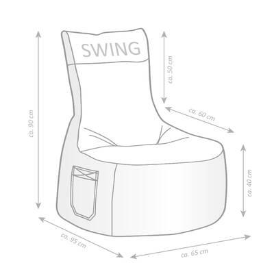 ebern designs bean bag chair reviews wayfair 70s Conversation Pit Living Rooms bean bag chair