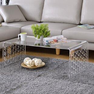 Brayden Studio Mercuri Honeycomb Coffee Table