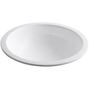 Buying Camber Ceramic Circular Undermount Bathroom Sink By Kohler