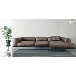 Zulema Leather Sectional
