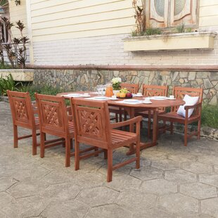 Stephenie 5 Piece Patio Dining Set by Lon..