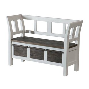 Newark Wood Bench By August Grove