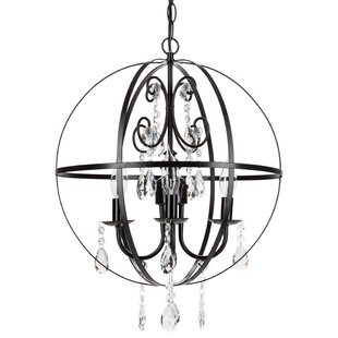 Amalfi Decor Luna 4-Light Globe Chandelier