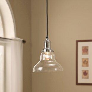 Charlton Home Baldwin 1-Light Bell Pendant