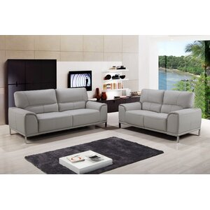 Betta Sofa and Loveseat Set by New Spec Inc