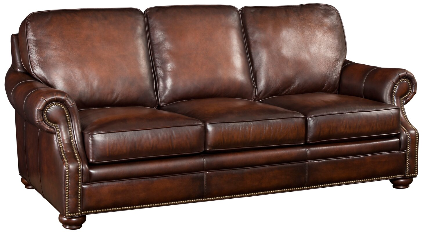 Hooker Furniture Hooker Leather Sofa & Reviews