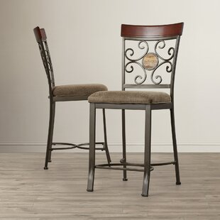 Nenuphar Upholstered Dining Chair (Set of 2) World Menagerie