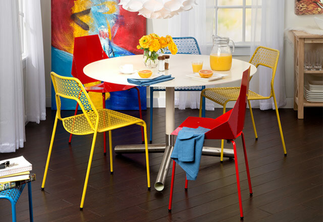 Remarkable Top 10 Colorful Dining Chairs Allmodern Caraccident5 Cool Chair Designs And Ideas Caraccident5Info