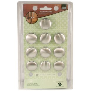 Sapphire Mushroom Knob (Set of 10) by Global Door Controls