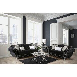 Rosdorf Park Lowes 2 Piece Living Room Set