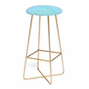 Ninola Design Marker Stripes 25 Bar Stool by East Urban Home Cool
