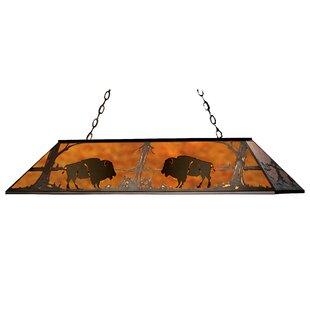Meyda Tiffany Buffalo 9-Light Pool Table Light