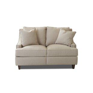 Wayfair Custom Upholstery? Tricia Power Hybrid Reclining Loveseat