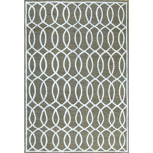 One-of-a-Kind Him Art Handwoven 6' x 9' Gray/White Area Rug By Bokara Rug Co., Inc.