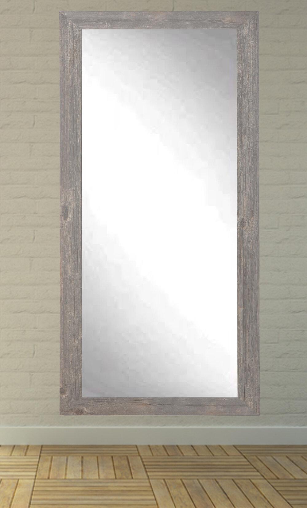 Iona Rustic Wild West Barnwood Full Length Wall Mirror