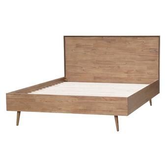 Meilani Queen Solid Wood Platform Bed Joss Main