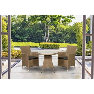 Gladys 2 Seater Bistro Set With Cushions By Bay Isle Home