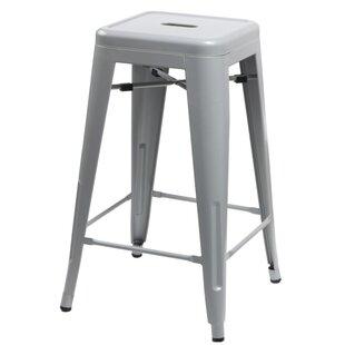 Williston Forge Grey Seat Bar Stools