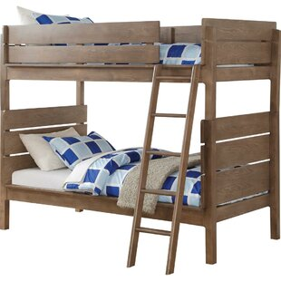 Harriet Bee Chilton Twin over Twin Bunk Bed