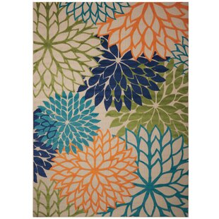 Discounts & Sales Nathalie Cream Indoor/Outdoor Area Rug Zipcode Design