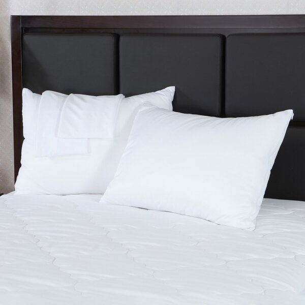 200 Thread Count 100/% Cotton Zippered Pillow Protectors USA Made 2 4 or 6 Pack